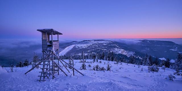 Nordschwarzwald im Schnee