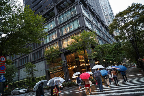 Privately Owned Public Space in Central Tokyo | by michaelvito