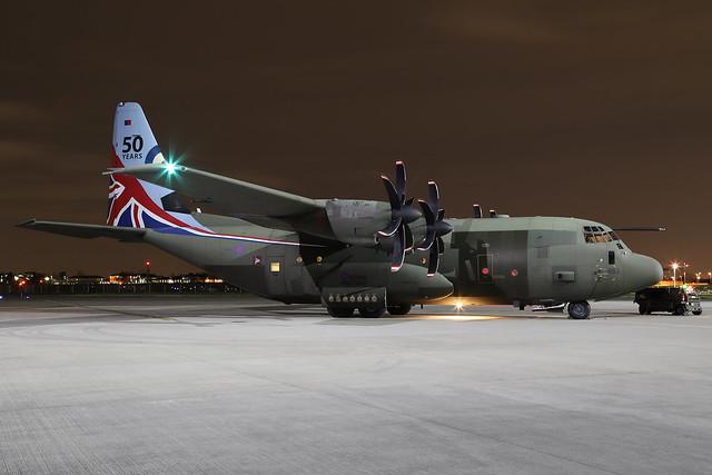 RAF C-130J Hercules C5