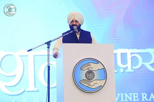 Hindi speech by Naranjan Singh, IAS (Retd), Punjab