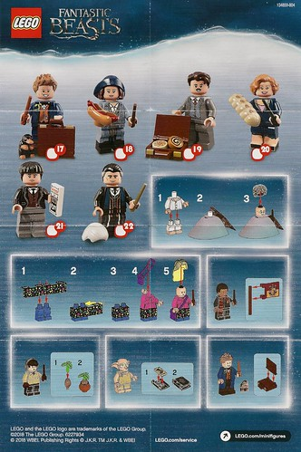 LEGO Minifigures - Harry Potter and Fantastic Beasts Series (71022) | by Pasq67