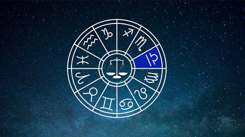 Libra Zodiac Sign Horoscope Wheel From Astrology