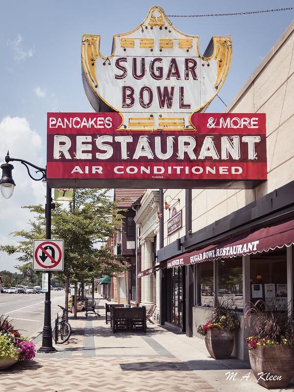 Sugar Bowl Vintage Sign