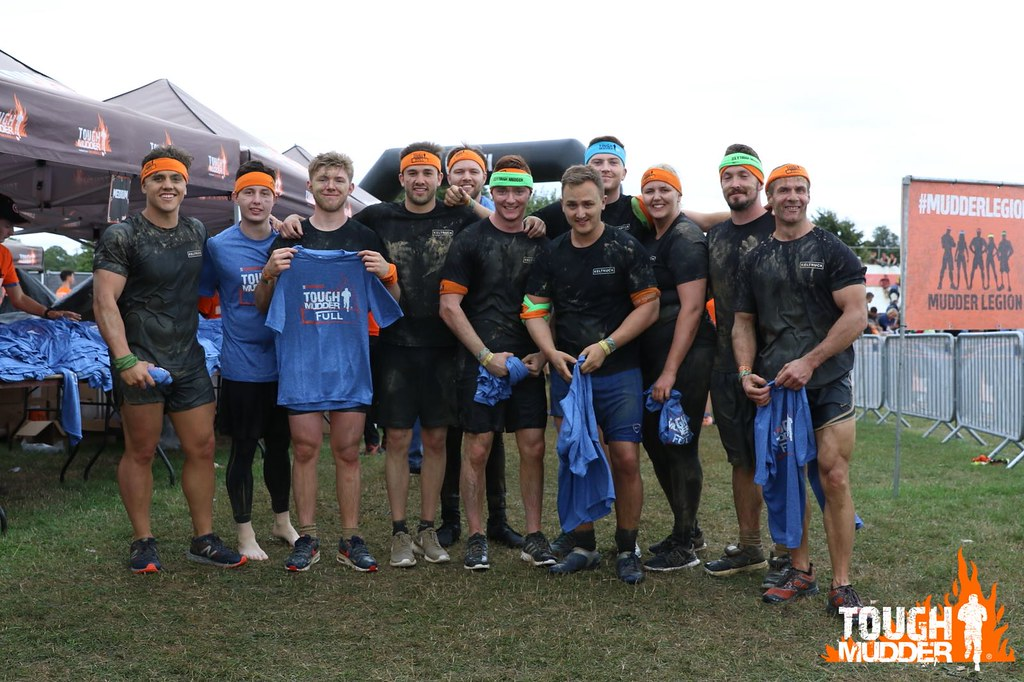 Keltruck Scania Tough Mudder team