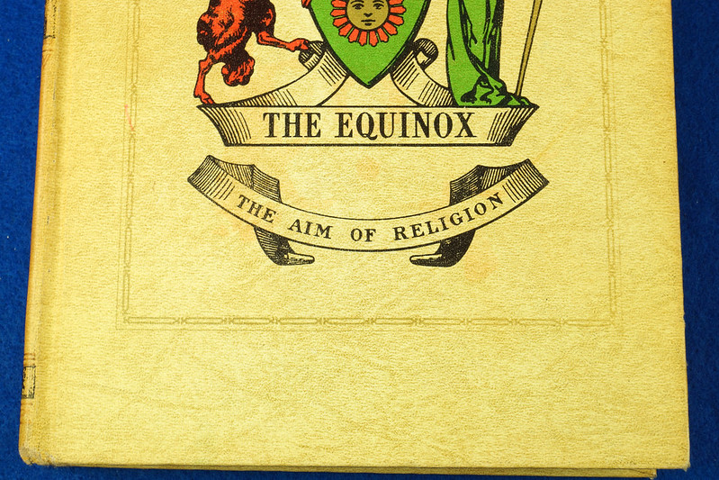 RD26573 The Equinox Review of Scientific Illuminism 1974 Vol. 1 Complete Set of 10 Books Aleister Crowley Occult Magic DSC08483