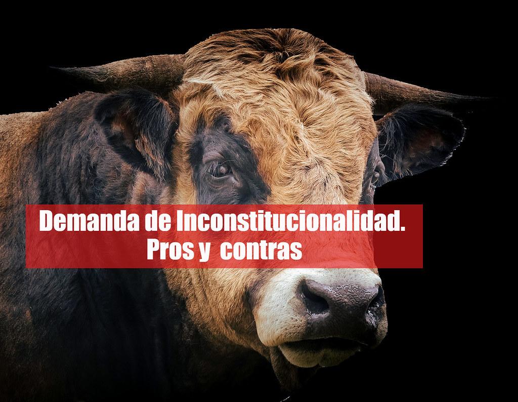 Preguntas sobre Demanda de Inconstitucionalidad. Los pros y los contras