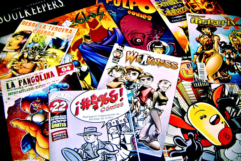 mexican comic books