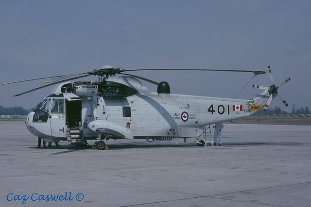 12401  CH-124  423 Squadron