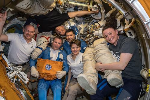 Russian spacewalk   by Astro_Alex