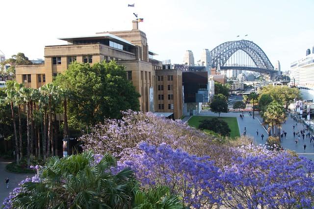 harbour bridge and MCA