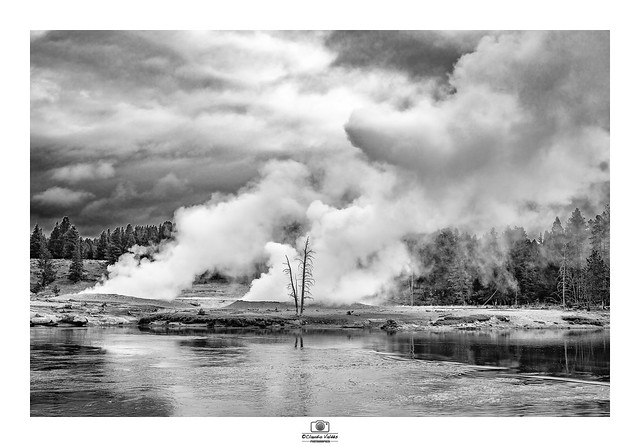 - Geysers in the Morning -