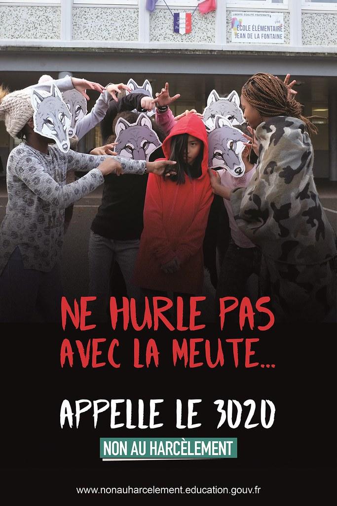 affiche-Ne-hurle-pas-avec-la-meute..EEP-La-Fontaine-Neuilly-sur-Marne