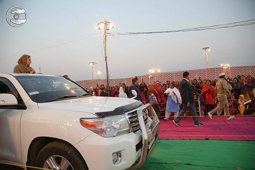 Arrival of Satguru Mata Ji in the Satsang venue