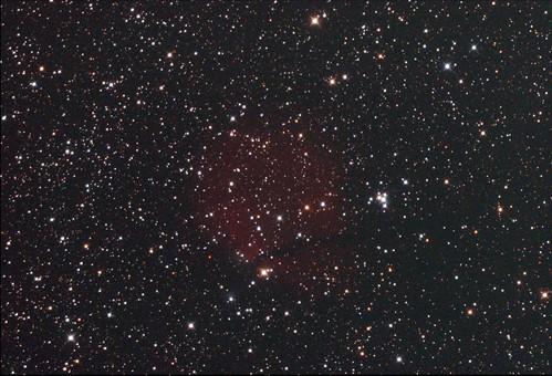 SH2-302 Snowman Nebula Stack_40frames_1200s_WithDisplayStretch | by BlackWikkett