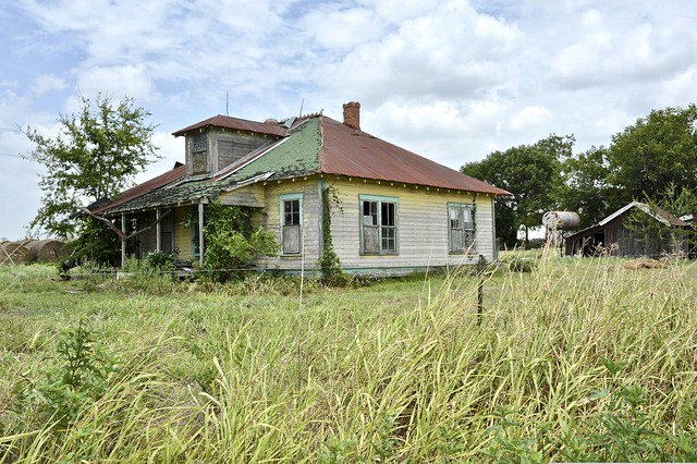 Abandoned in Milam County,Texas