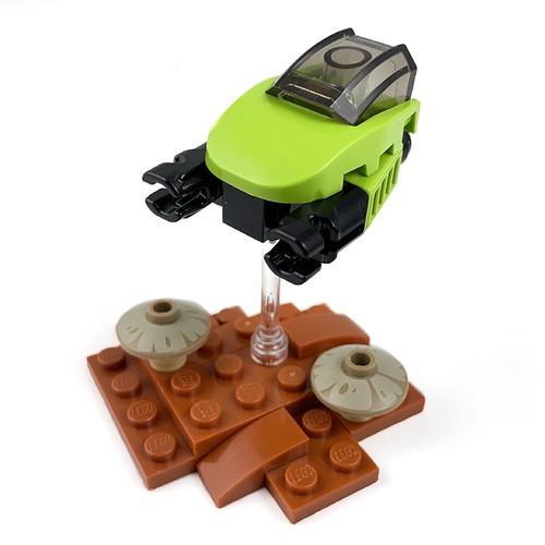 Micro Ship | RebelLUG 30 Min / 30 Piece Challenge
