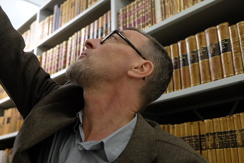 Ola Gustafsson i Stadsbibliotekets samlingar