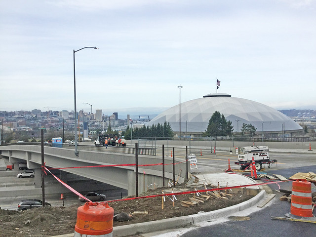 New McKinley Way overpass is almost finished