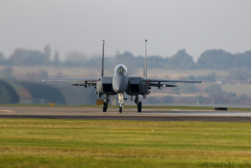 F-15E Strike Eagle 91-0301 - 492nd Fighter Squadron RAF Lakenheath | by stu norris