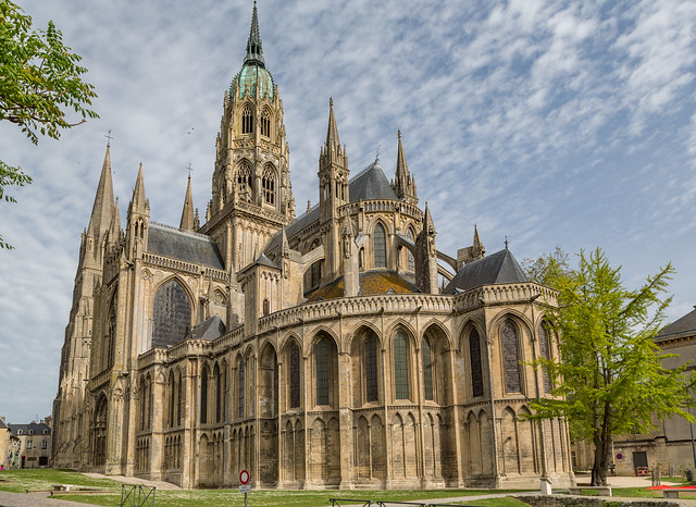 Magnificent Bayeux Cathedral, France