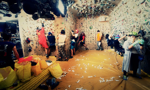 Fantasyclimbing corso di arrampicata il deposito di zio Paperone 24