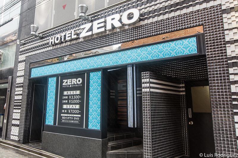 Love hotel en Shibuya