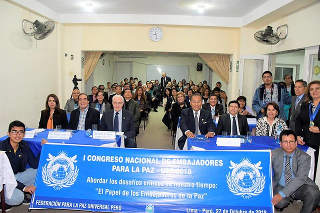 Peru-2018-10-27-UPF Holds National Congress for Ambassadors for Peace in Peru