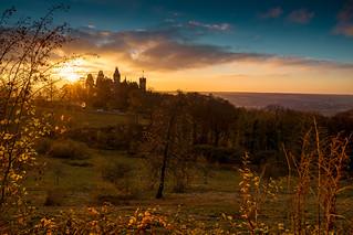 Schloss Drachenburg Sonnenuntergang | by salomon10
