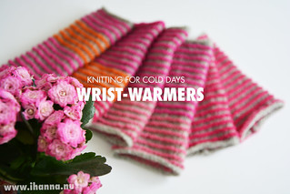 Knitted Wrist-warmers by iHanna | by iHanna