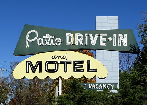 WI, Sister Bay-WI 57 Patio Drive In and Motel Neon Sign | by Alan C of Marion,IN