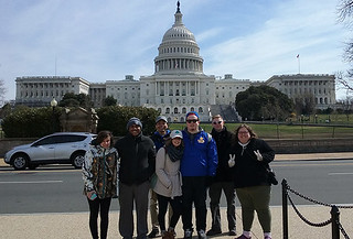 Mon, 03/13/2017 - 11:43 - The GCC History Club on a recent trip to Washington, DC