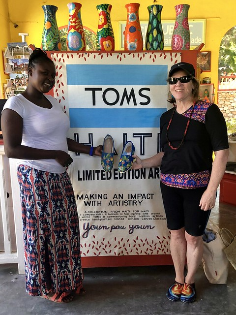 Nancy D Brown, Toms Haiti Limited Edition Canvas Classics