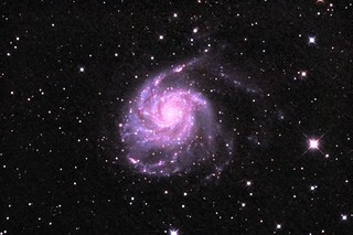 M101 Pinwheel Galaxy ST PS Edit Stack_164frames_9840s_WithDisplayStretch | by BlackWikkett