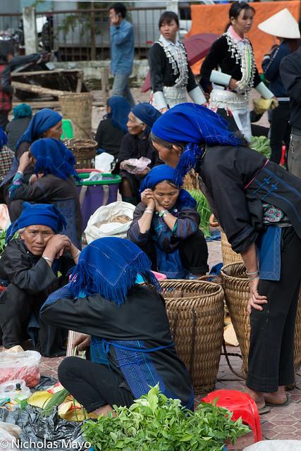 Black Hani Women In The Market