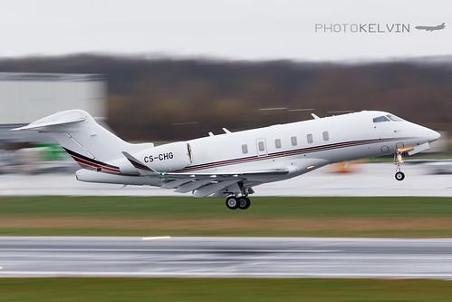 Bombardier Challenger 350 - NetJets - CS-CHG | by Kelvin Jahae