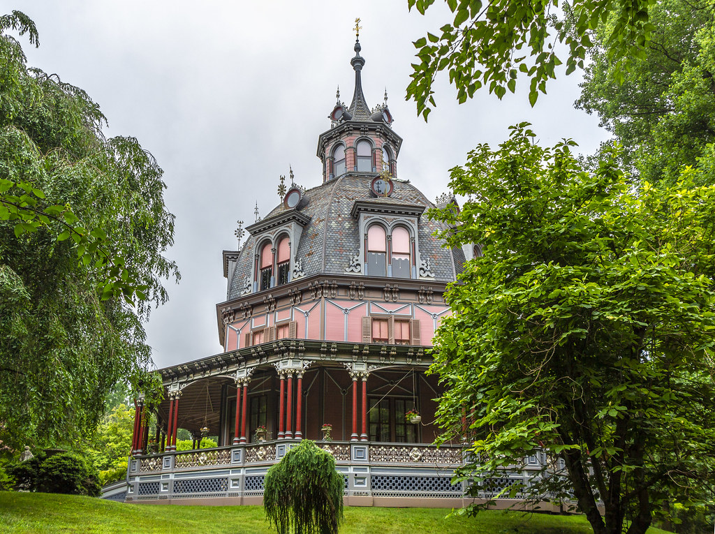 Armour-Stiner House | This octagon house in Irvington, New ...