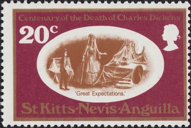 Saint Kitts Nevis Anguilla - 224 - 1970