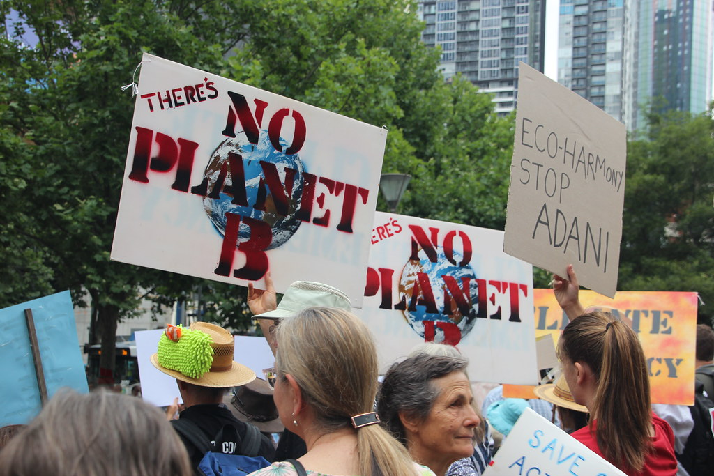 Image result for climate strike there is no planet b
