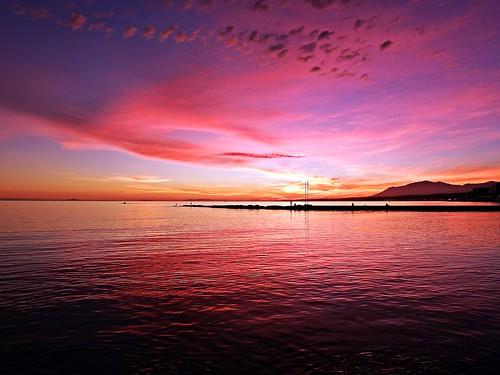 andalucia atardecer marbella málaga mar mediterráneo costadelsol cielo españa spain sunset