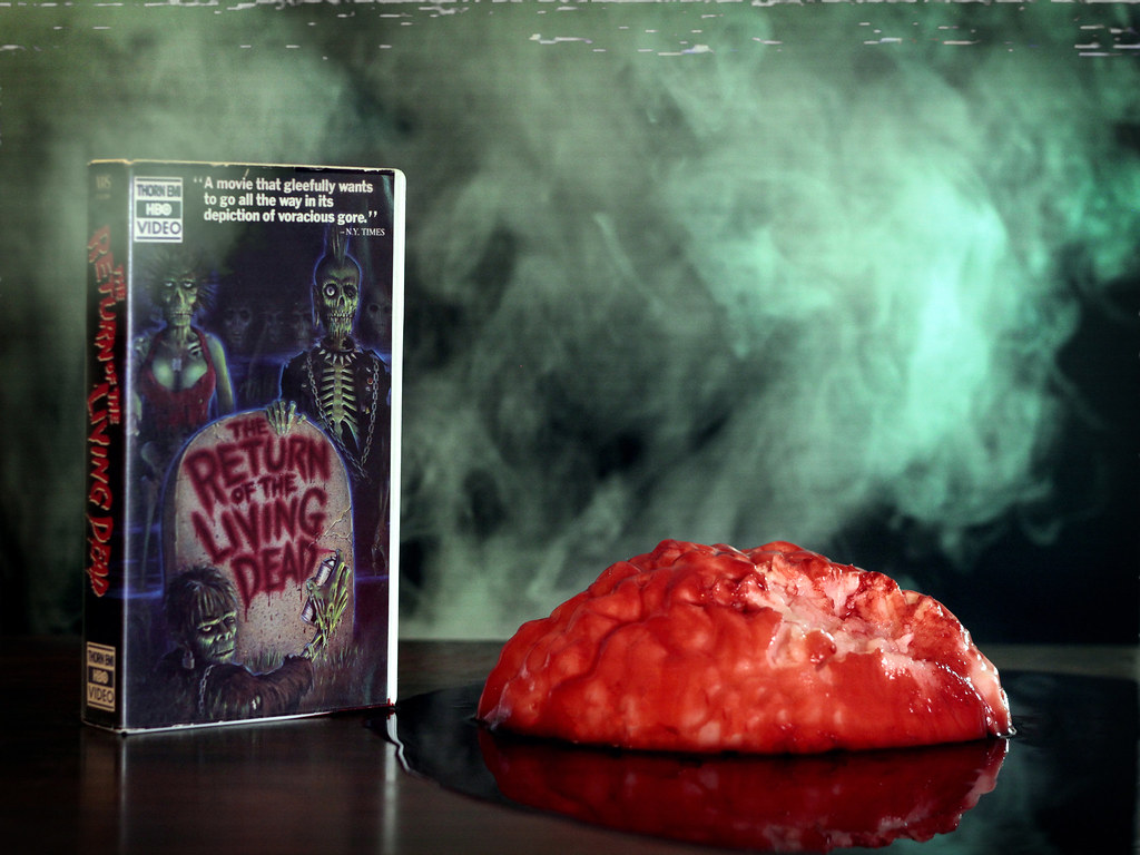 The Return Of The Living Dead Vhs This Is The July Photo F Flickr