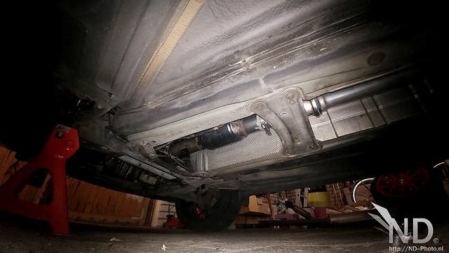 """Volvo S80 2.4T BSR 3"""" Downpipe + New Catback"""