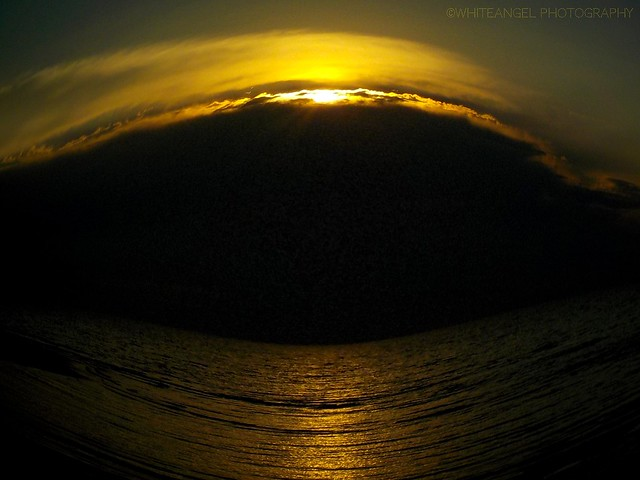 Fish eyed skyseascape  Ph. by #WhiteANGEL