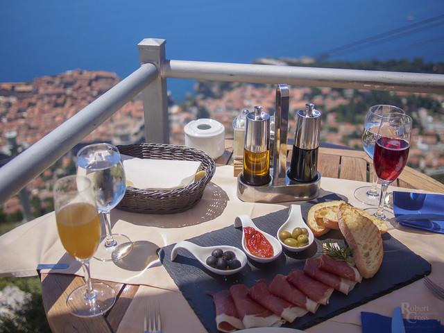 Dining Above Dubrovnik