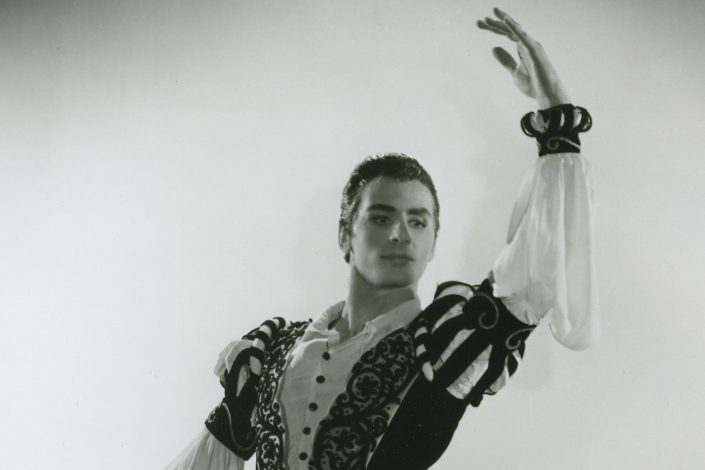Philip Chatfield as Albrecht in 'Giselle' Act II, with Sadler's Wells Ballet, c1946-1956 © ROH Collections