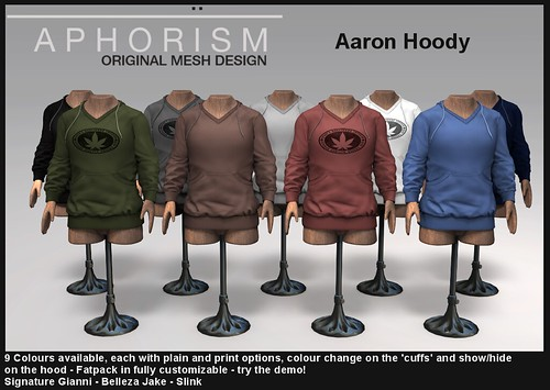 !APHORISM! Aaron Hoody preview | by Rucy Byron (!APHORISM!)