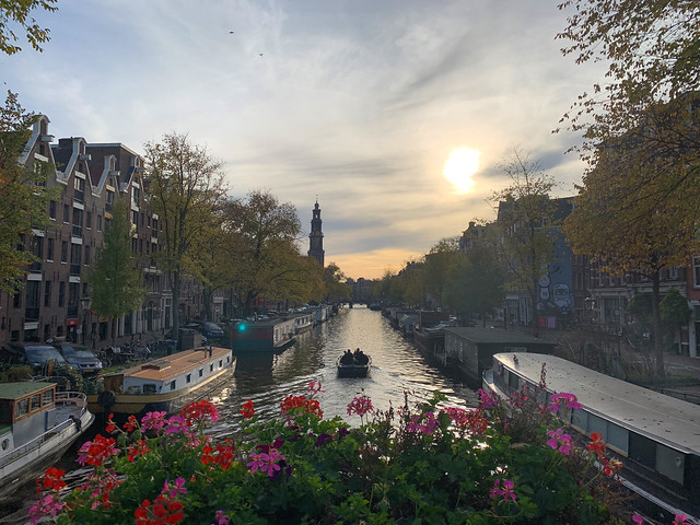 Shayne's photo of an Amsterdam canal