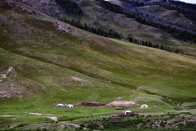 Gers & Mongolian Scenery