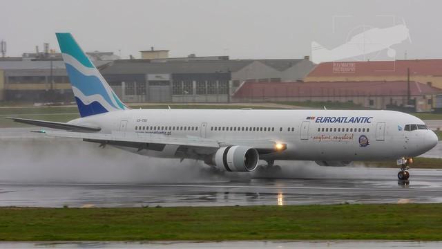 CS-TSU Boeing 767-34PER