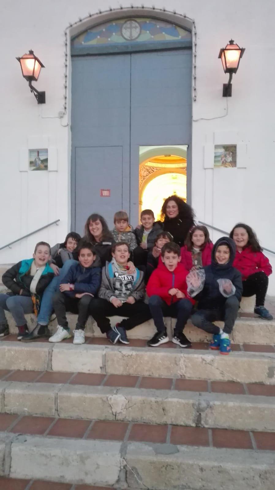 (2018-11-23) - Visita ermita  Esther-Maria Mercedes,2º,Catequesis - Vicente Rico (14)