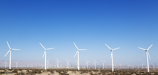 Wind turbines in the California desert. Original image from Carol M. Highsmith's America, Library of Congress collection. Digitally enhanced by rawpixel.   by Free Public Domain Illustrations by rawpixel